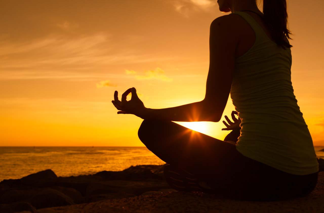 Retiro de meditación y el pensamiento consciente